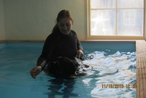 vrij zwemmen honden hydrotherapie